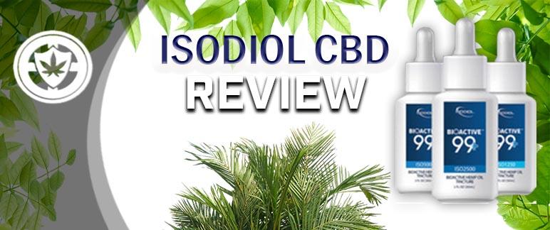 Isodiol CBD - CBD Company Product Review | CBD Cop