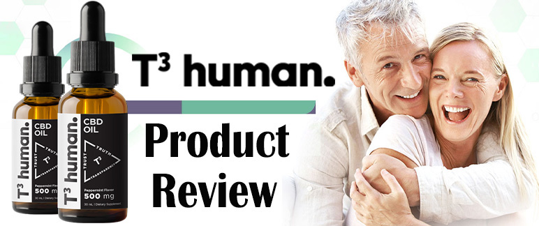 T3 Human CBD – Reduce Muscle, Joint Aches and Pains