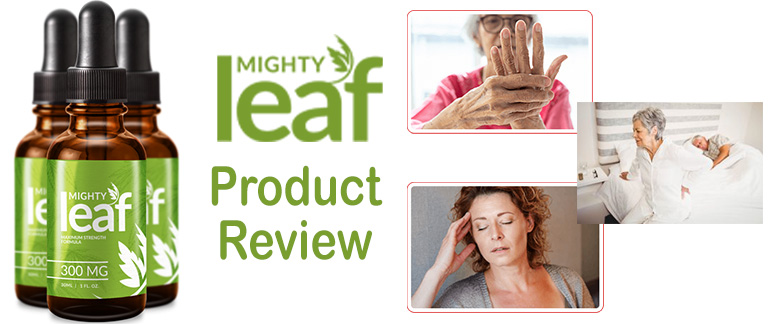 Mighty Leaf CBD Oil – Boosts Cognitive Health! | Review